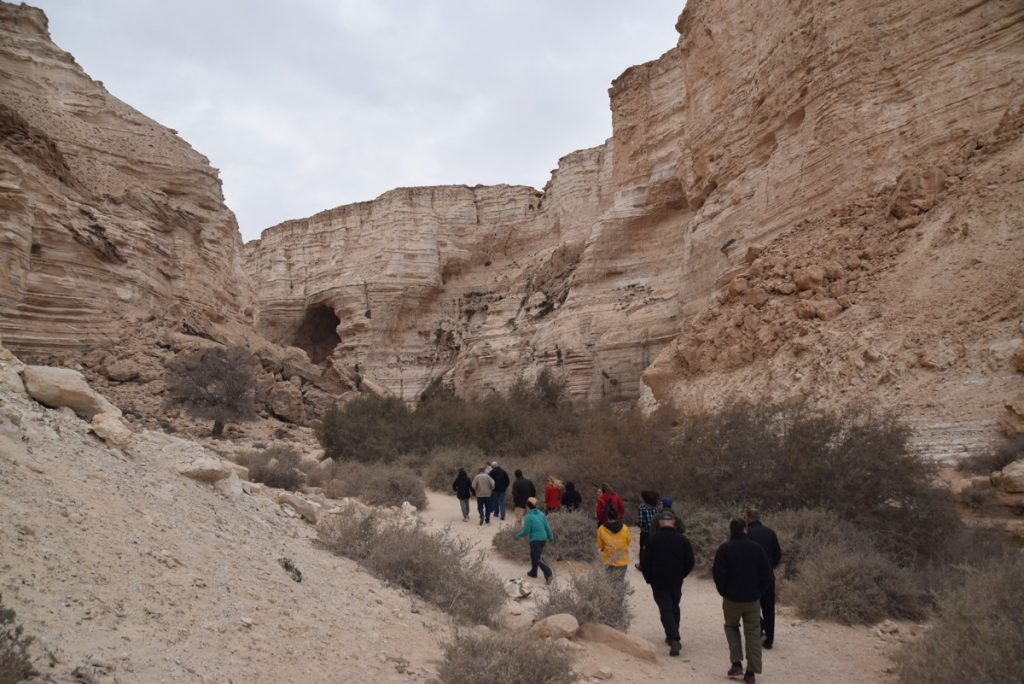 Zin desert January 2018 Israel Tour