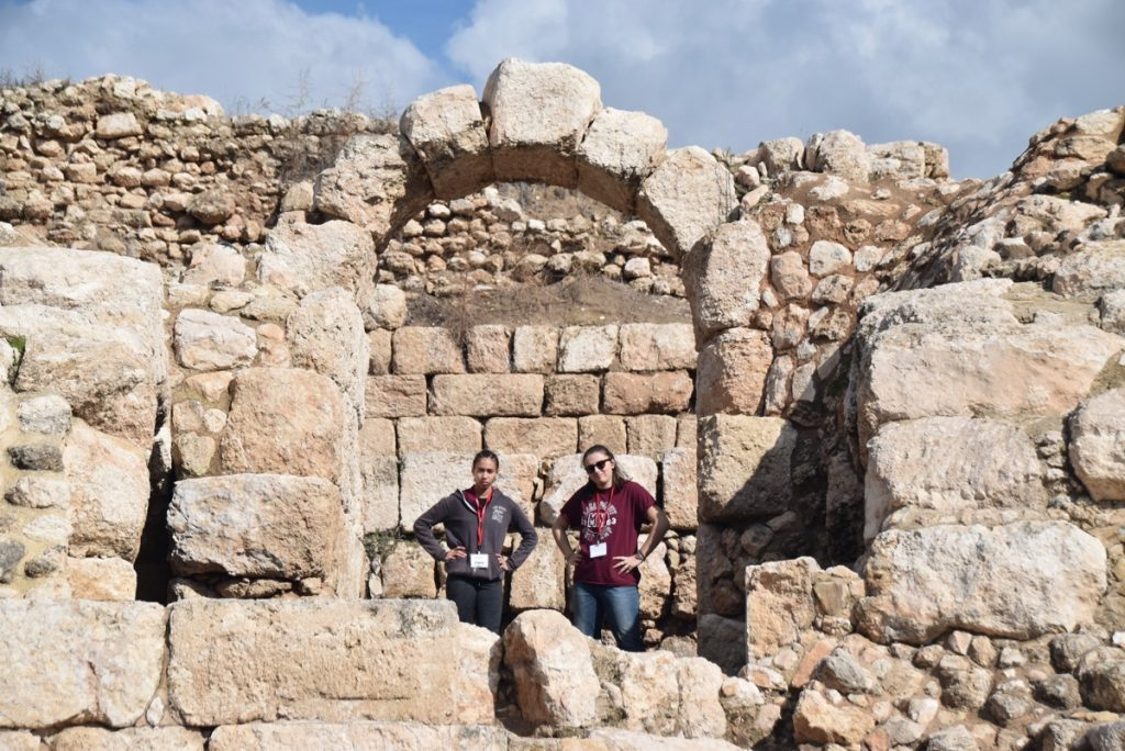 Best Guvrin amphitheater January 2018 Israel Tour