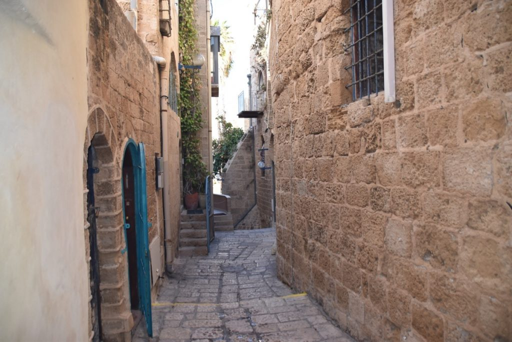 Joppa street January 2018 Israel Tour