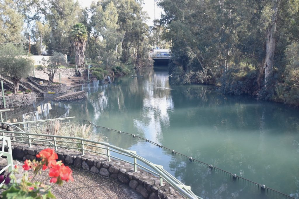 Yardenit Jordan River January 2018 Israel Tour