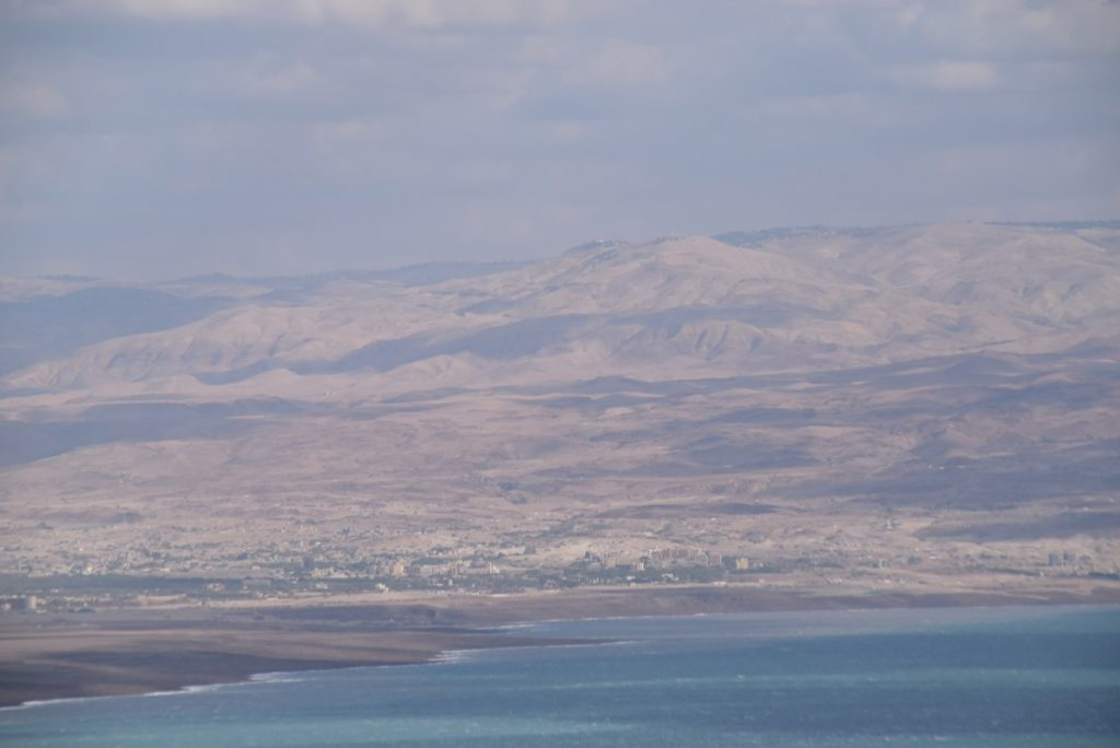 Dead Sea from Cave 1 Qumran January 2018 Israel Tour