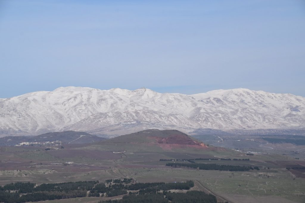 Mt. Hermon Israel January 2018 Israel Tour