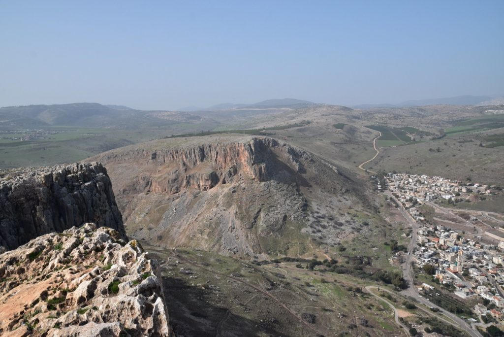 Arbel cliff January 2018 Israel Tour