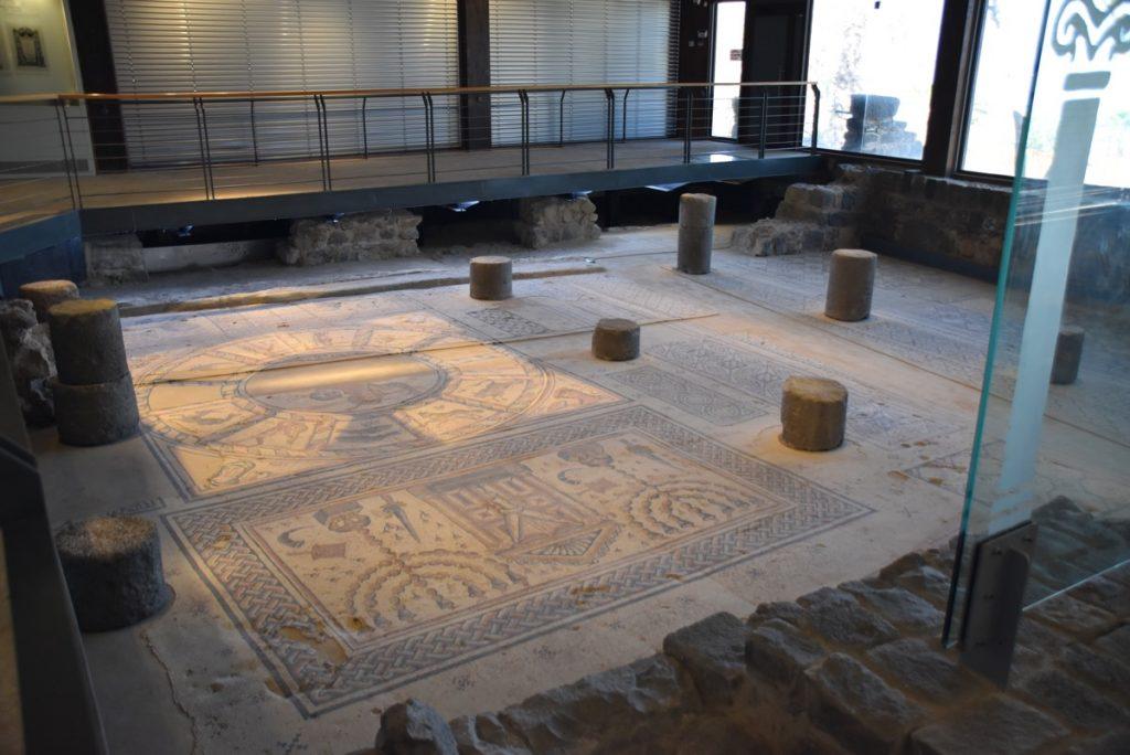 Hamat Tiberias synagogue January 2018 Israel Tour