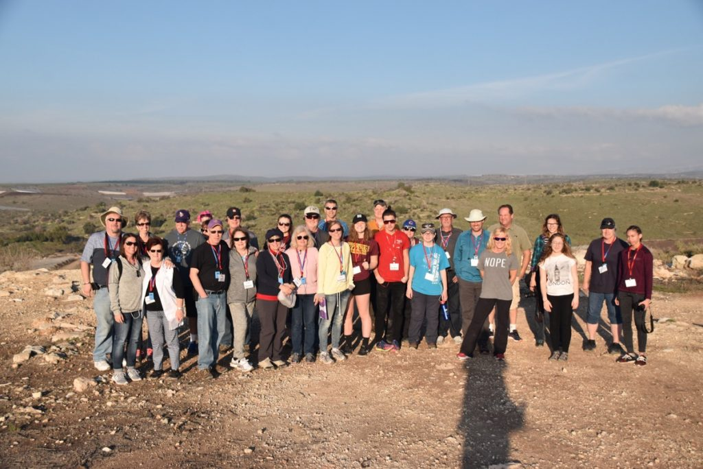 Lachish January 2018 Israel Tour Group with Dr. John DeLancey