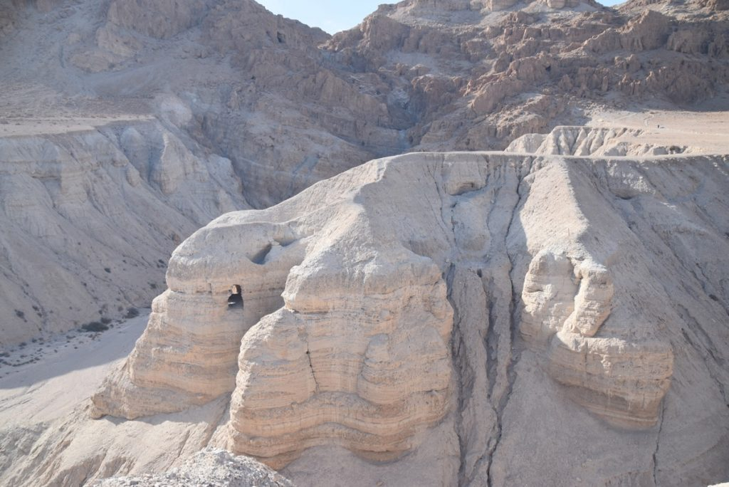 Qumran Cave 4 January 2018 Israel Tour