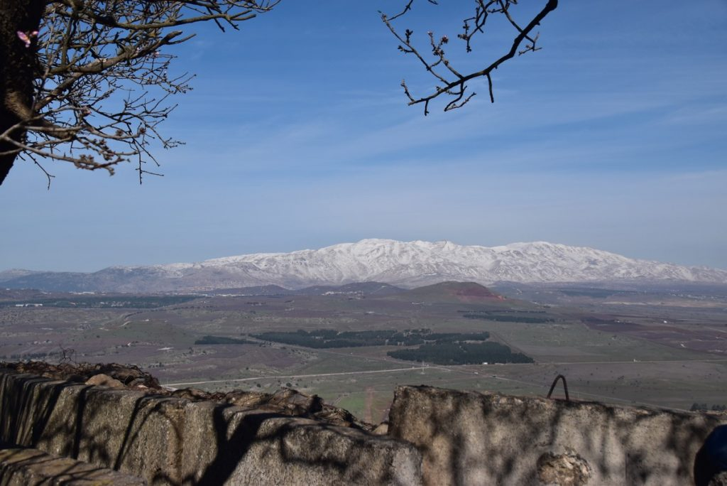 Bental IDF Syria border Mt. Hermon January 2018 Israel Tour
