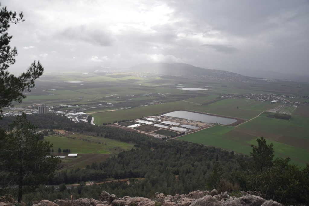Jezreel Valley January 2018 Israel Tour