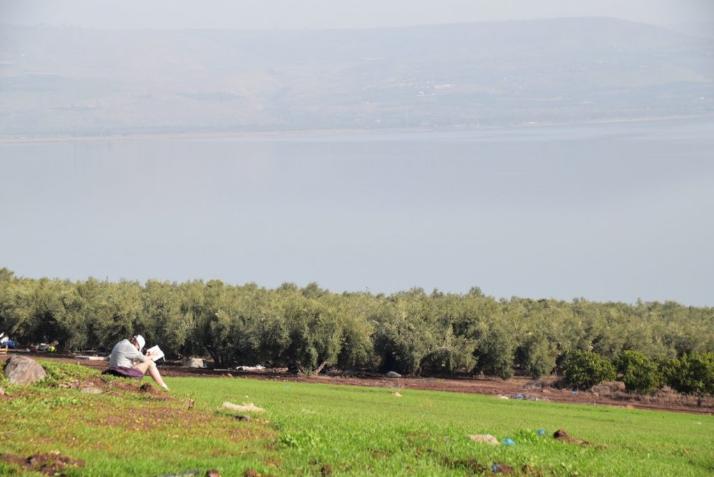 Mt. of Beatitudes January 2018 Israel Tour