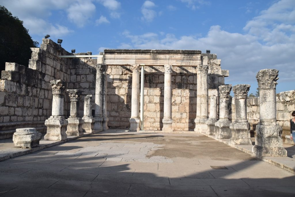 Capernaum synagogue January 2018 Israel Tour