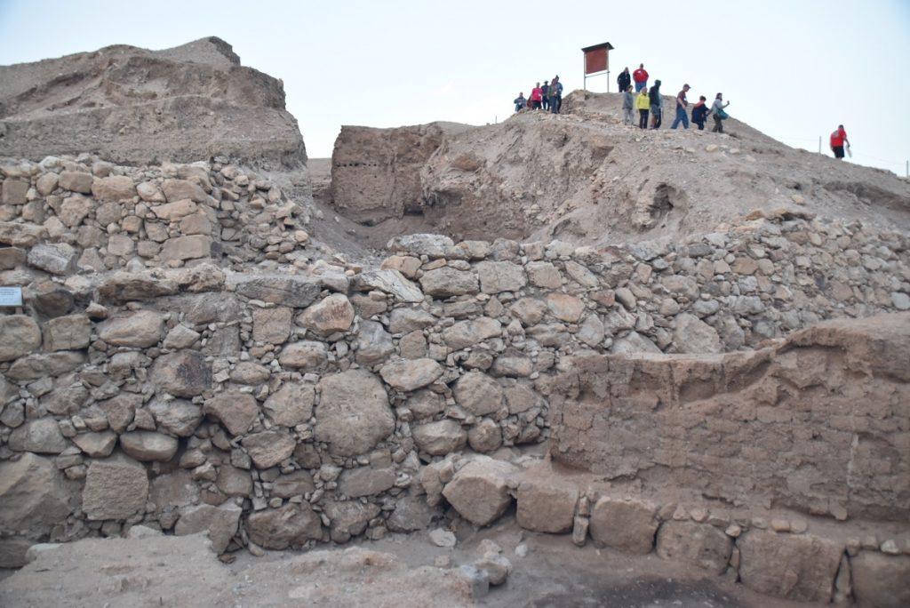 Jericho walls January 2018 Israel Tour