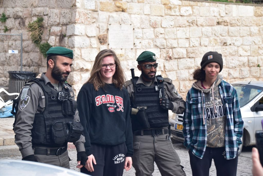 Jerusalem IDF soldiers January 2018 Israel Tour