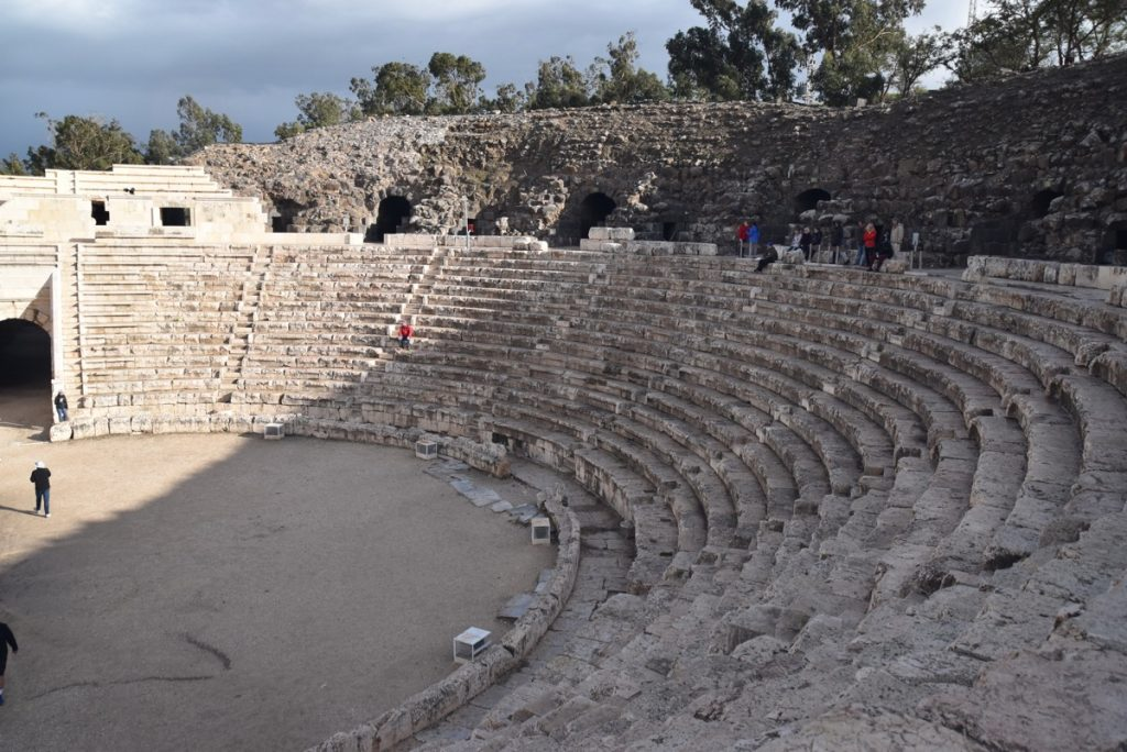 Beth Shean theater January 2018 Israel Tour