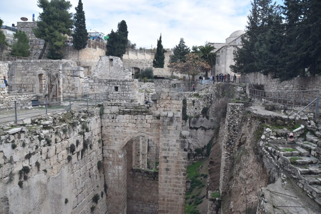 Pools of Bethesda January 2018 Israel Tour