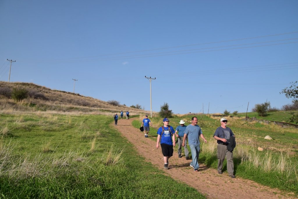 Mt. of Beatitudes January 2018 Israel Tour