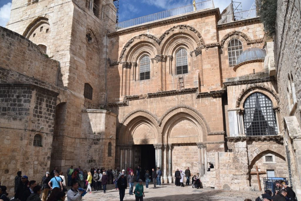 Holy Sepulcher church January 2018 Israel Tour