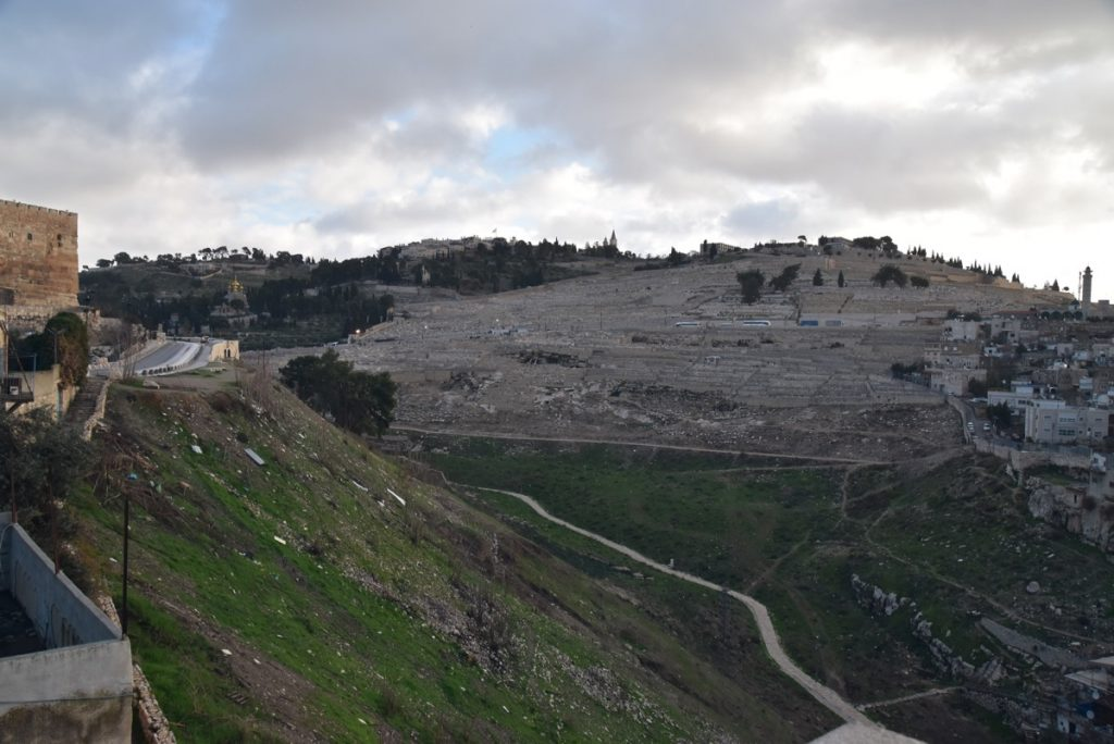 Mt. of Olives January 2018 Israel Tour