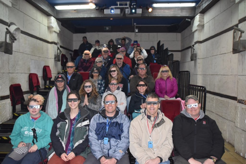 City of David 3-D movie January 2018 Israel Tour Group with Dr. John DeLancey