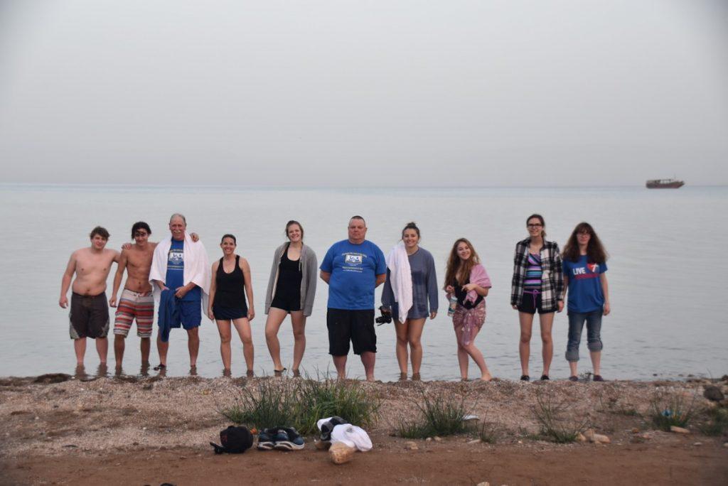 Sea of Galilee January 2018 Israel Tour