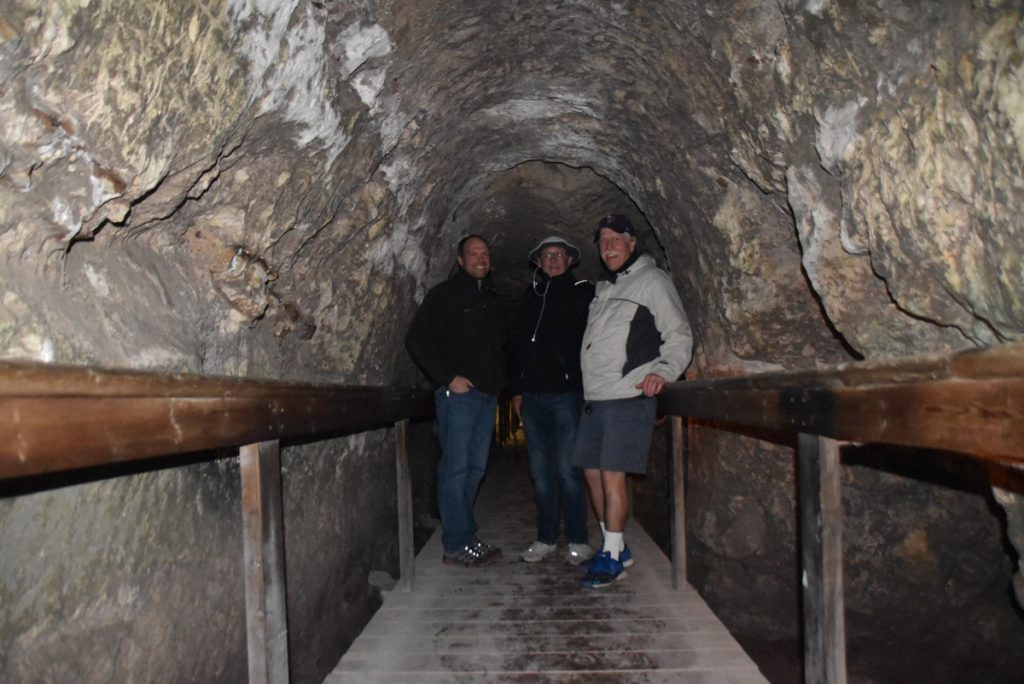 Tel Megiddo water tunnel January 2018 Israel Tour