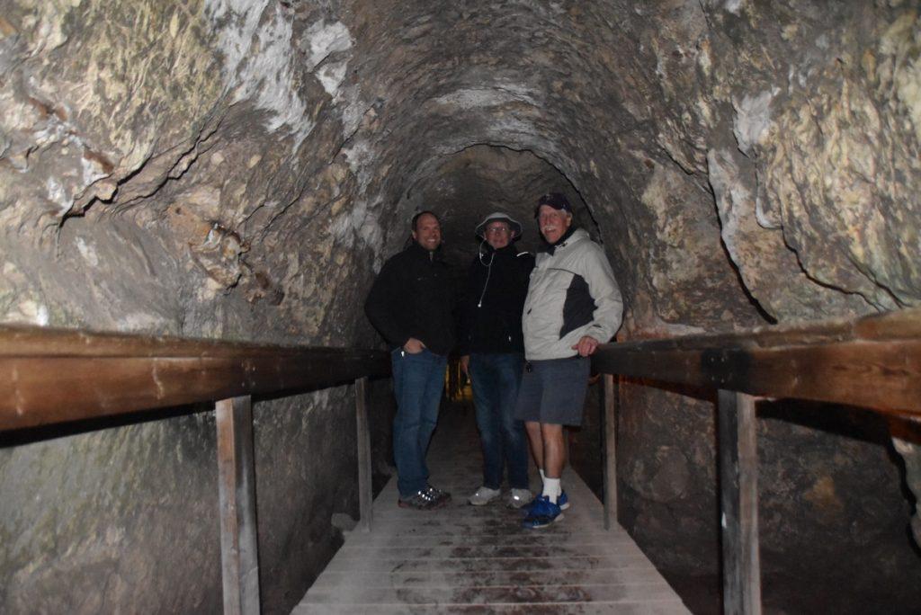 Tel Megiddo water tunnel January 2018 Israel Tour
