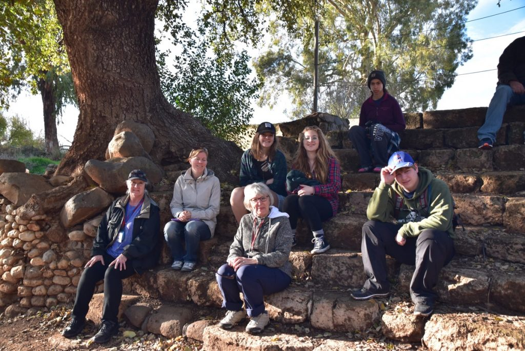 Tel Dan High place January 2018 Israel Tour