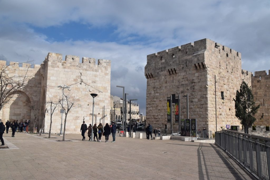 Jaffa Gate Old City Jerusalem January 2018 Israel Tour