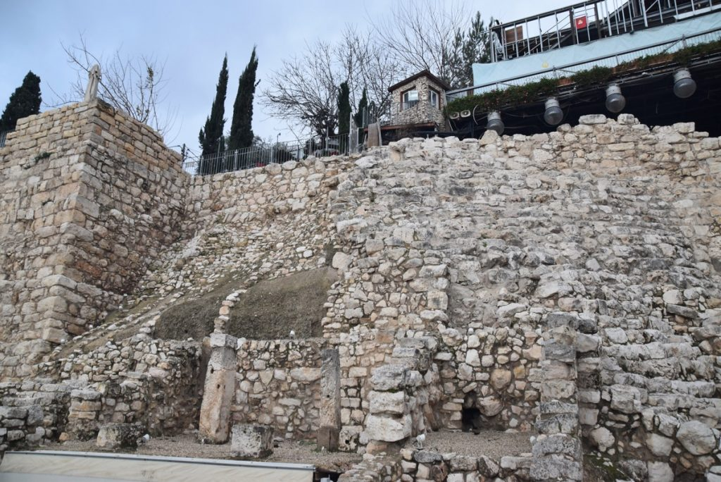 City of David Area G January 2018 Israel Tour