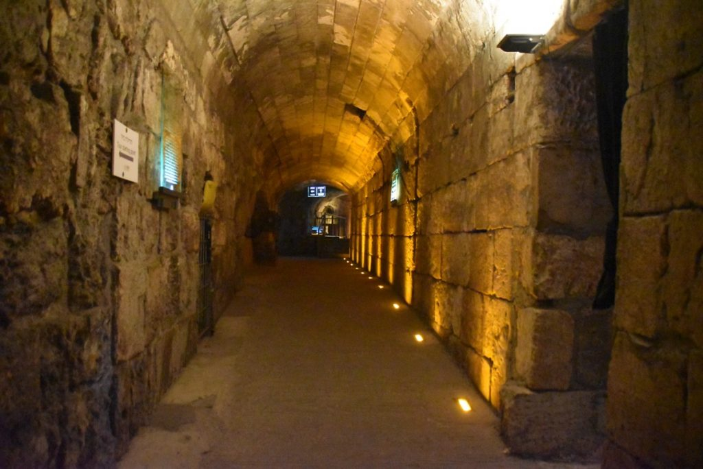 Western Wall Tunnel Jerusalem January 2018 Israel Tour