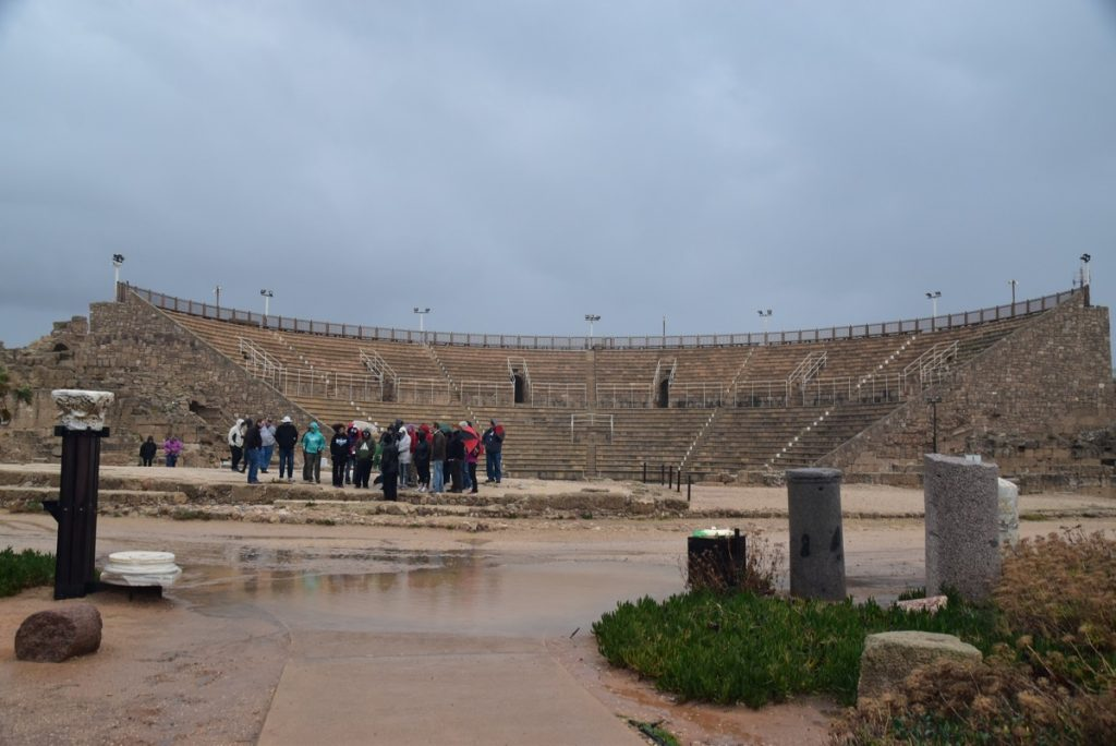 Caesarea January 2018 Israel Tour