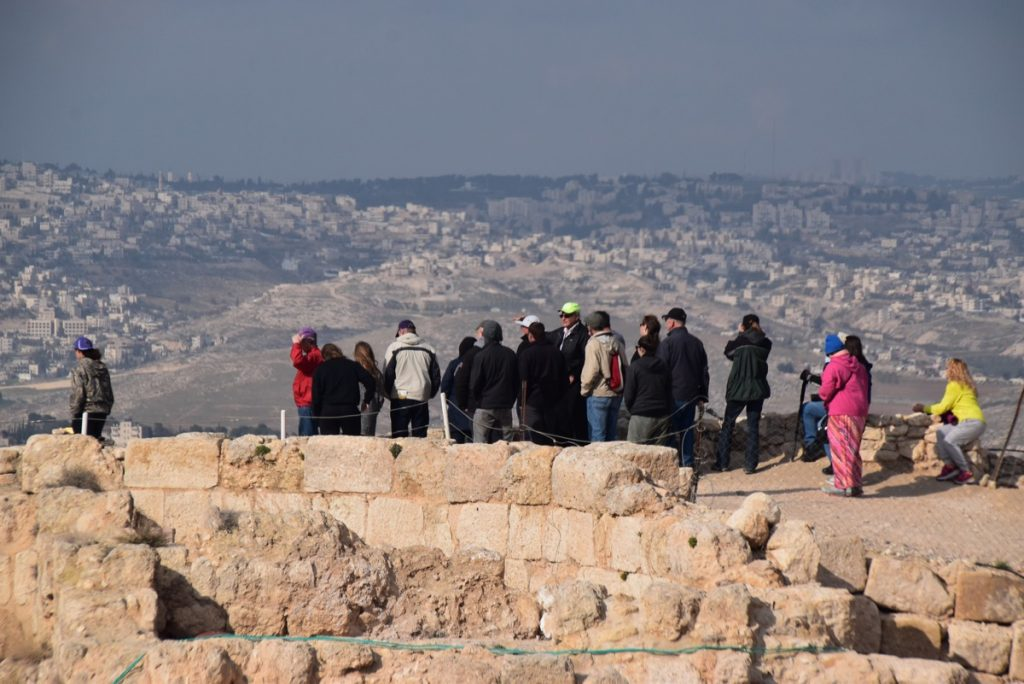 Herodium January 2018 Israel Tour