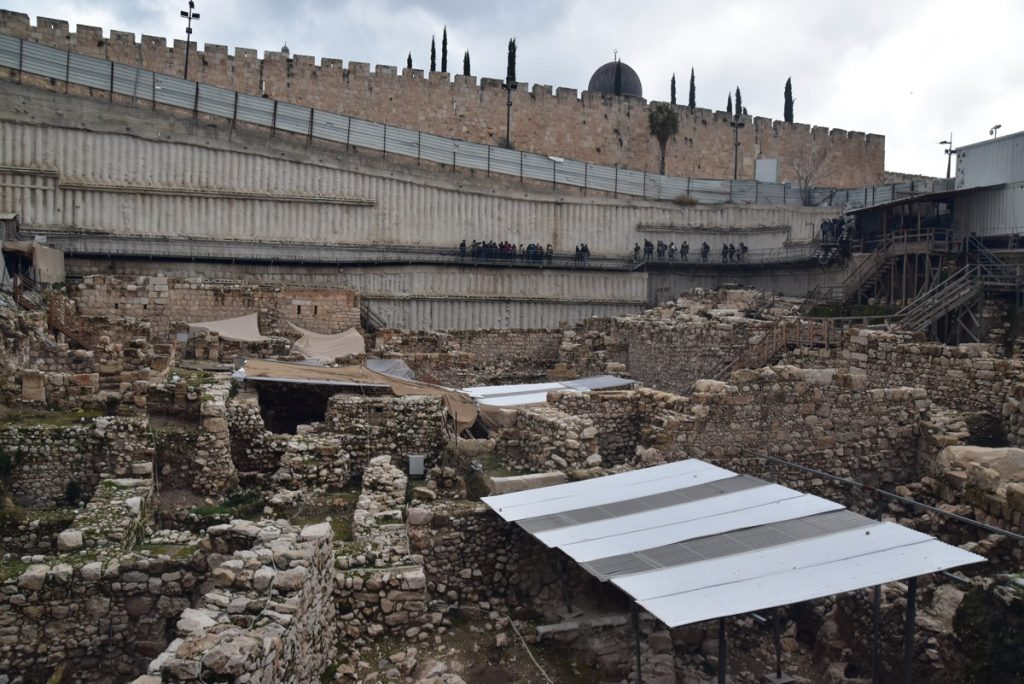City of David Gavati January 2018 Israel Tour