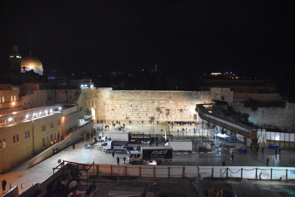 Western Wall Jerusalem January 2018 Israel Tour
