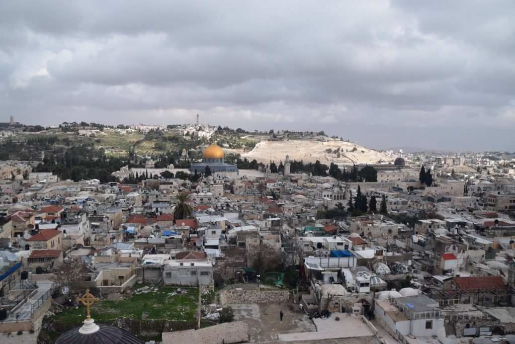 Temple Mount Jerusalem January 2018 Israel Tour