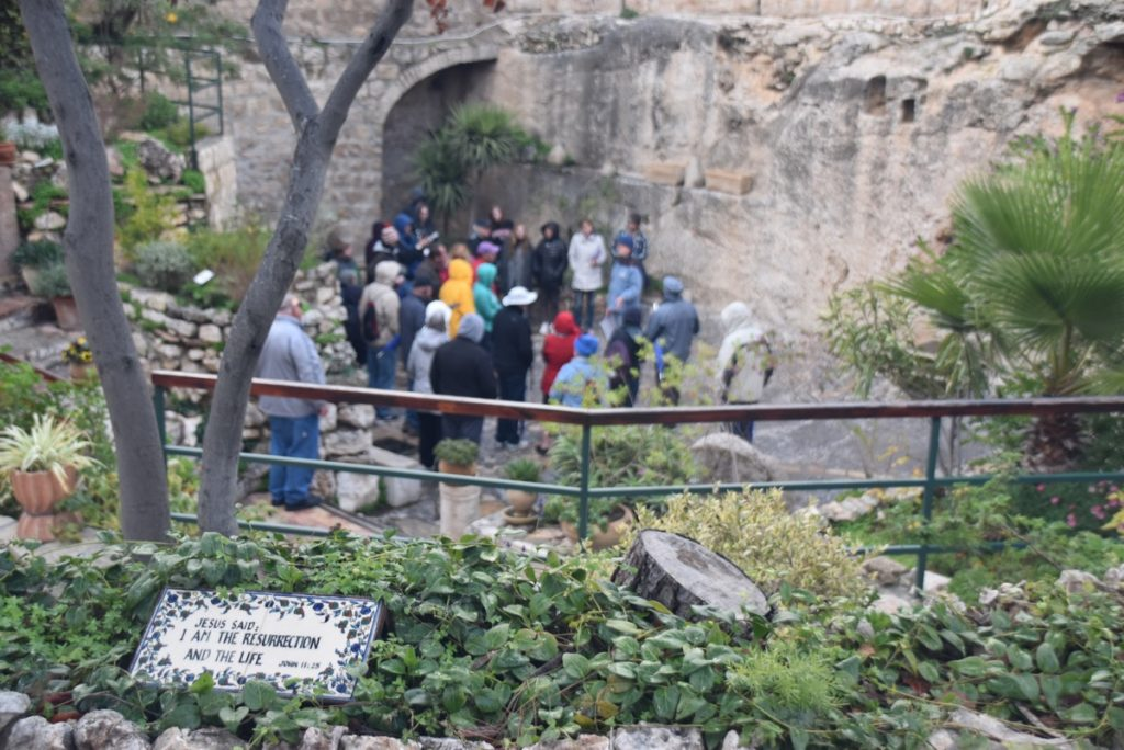 Garden Tomb Jerusalem January 2018 Israel Tour