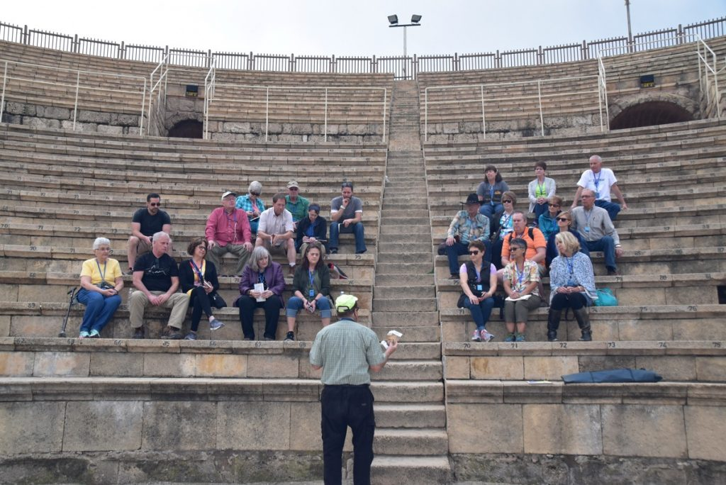 Caesarea February 2018 Israel Tour with Dr. John DeLancey
