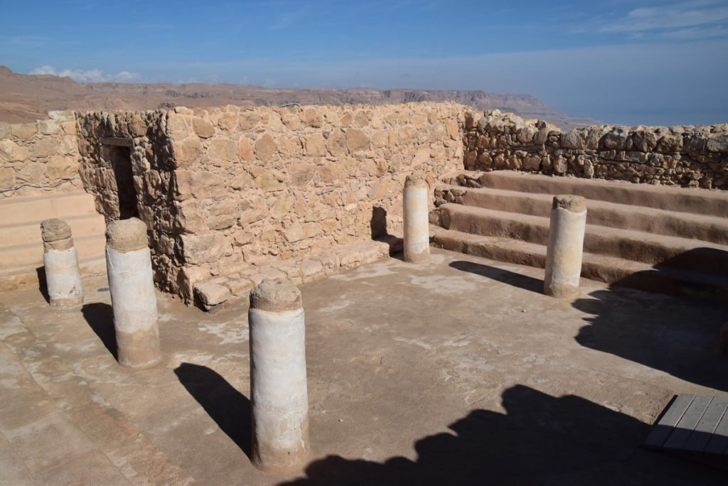 Masada synagogue February 2018 Israel Tour with John DeLancey