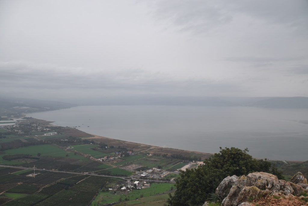 Arbel and Sea of Galilee February 2018 Israel Tour