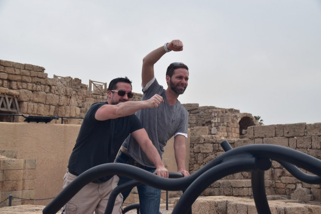 Caesarea February 2018 Israel Tour with John DeLancey