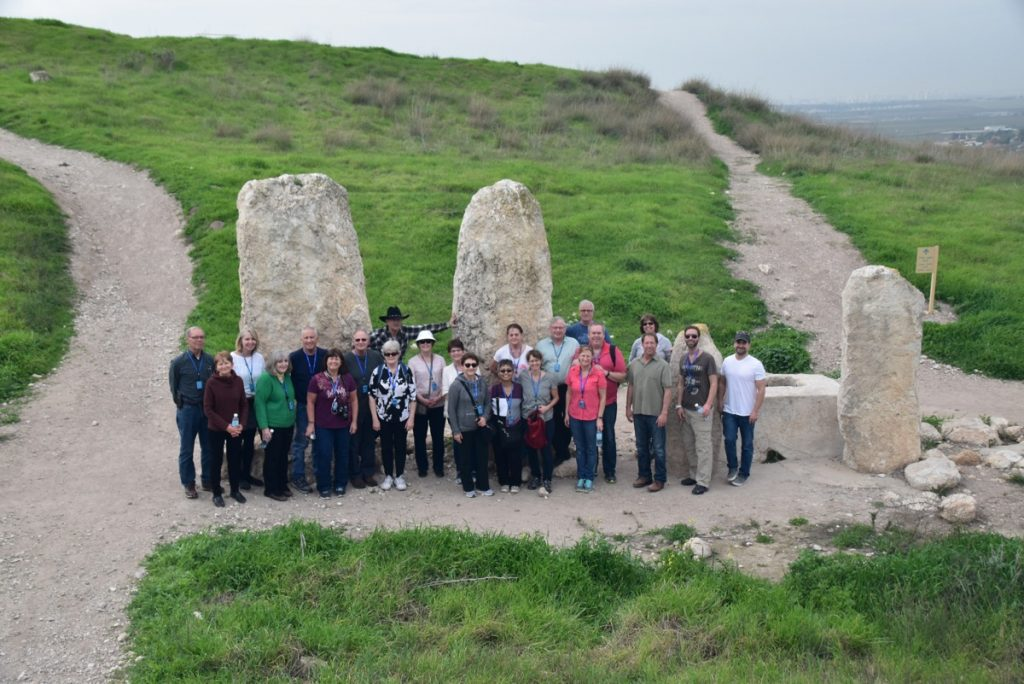 Gezer February 2018 Israel Tour with Dr. John DeLancey