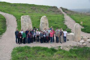 standing stones gezer