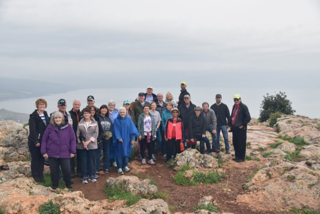 Arbel February 2018 Israel Tour with Dr. John DeLancey