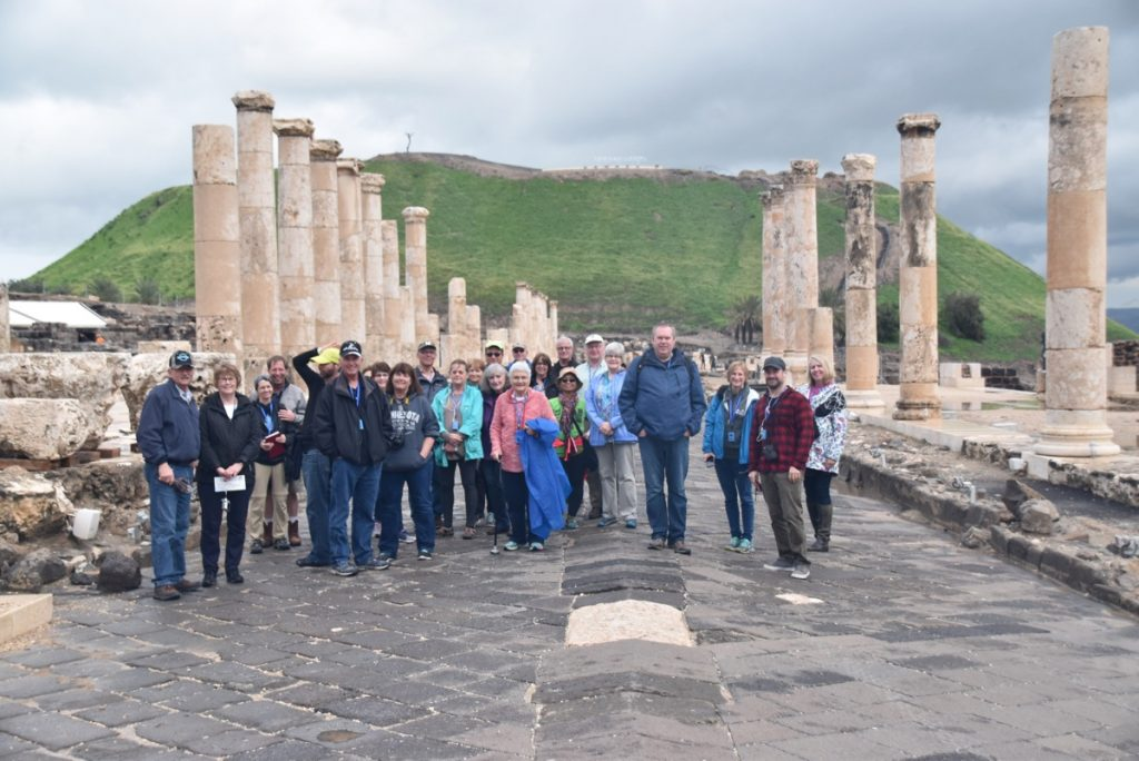 Beth Shean February 2018 Israel Tour with Dr. John DeLancey