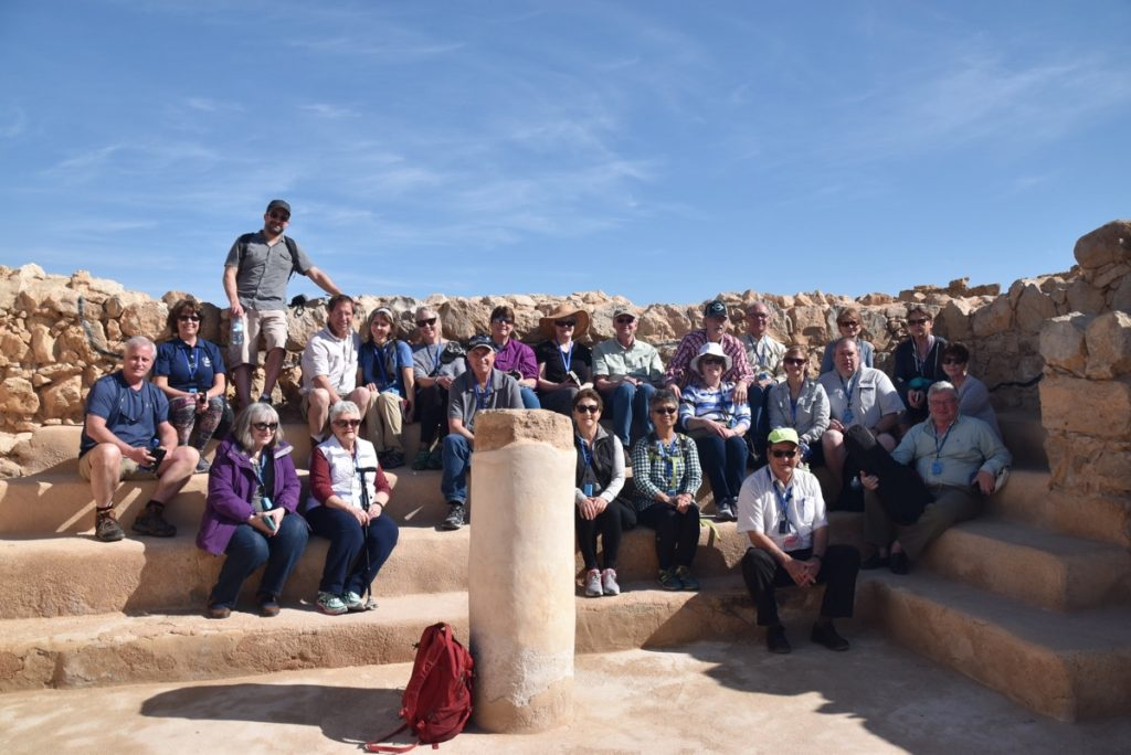 Masada synagogue February 2018 Israel Tour with Dr. John DeLancey