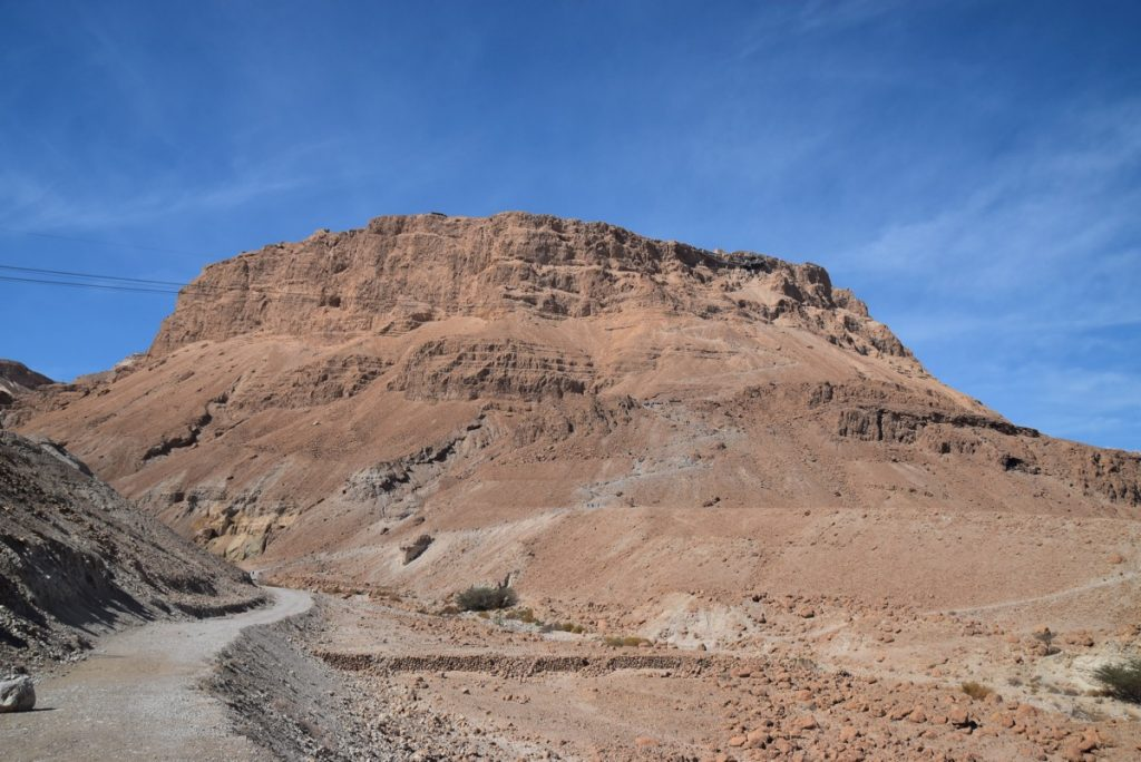 Masada February 2018 Israel Tour with John DeLancey
