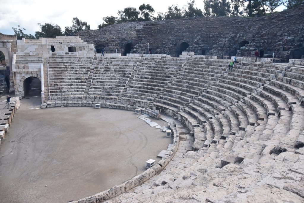 Beth Shean theater February 2018 Israel Tour