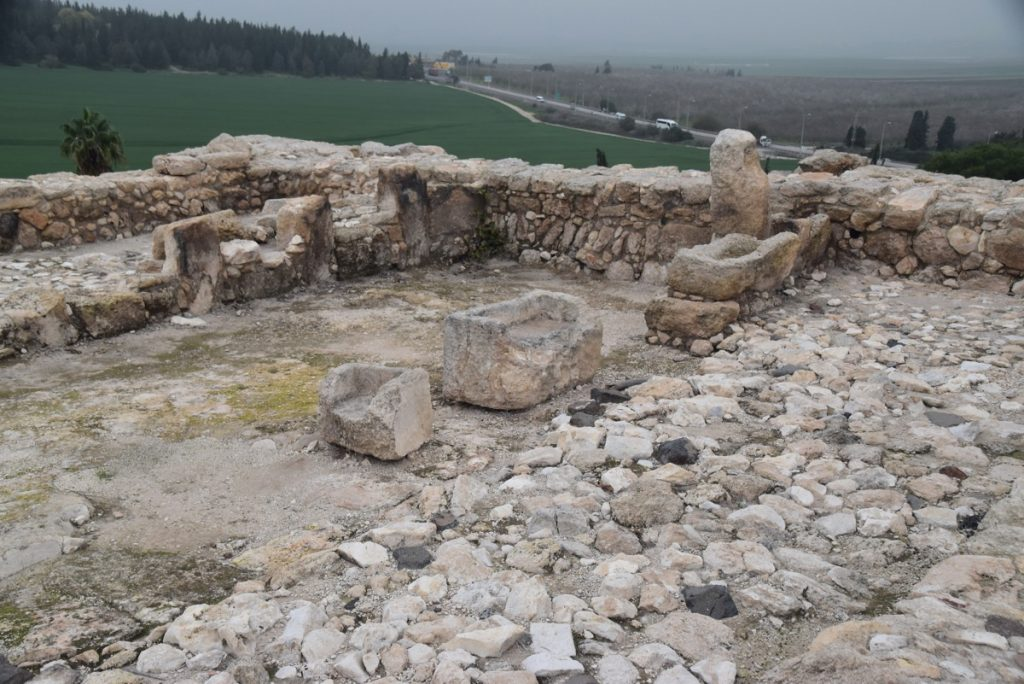 Tel Megiddo February 2018 Israel Tour with John DeLancey