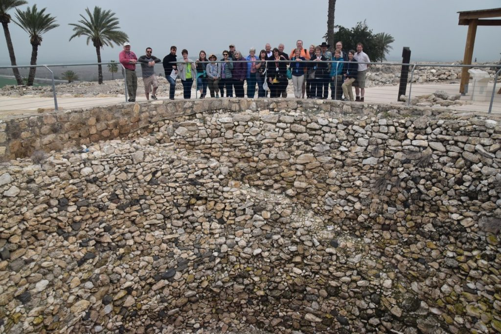 Megiddo February 2018 Israel Tour with Dr. John DeLancey