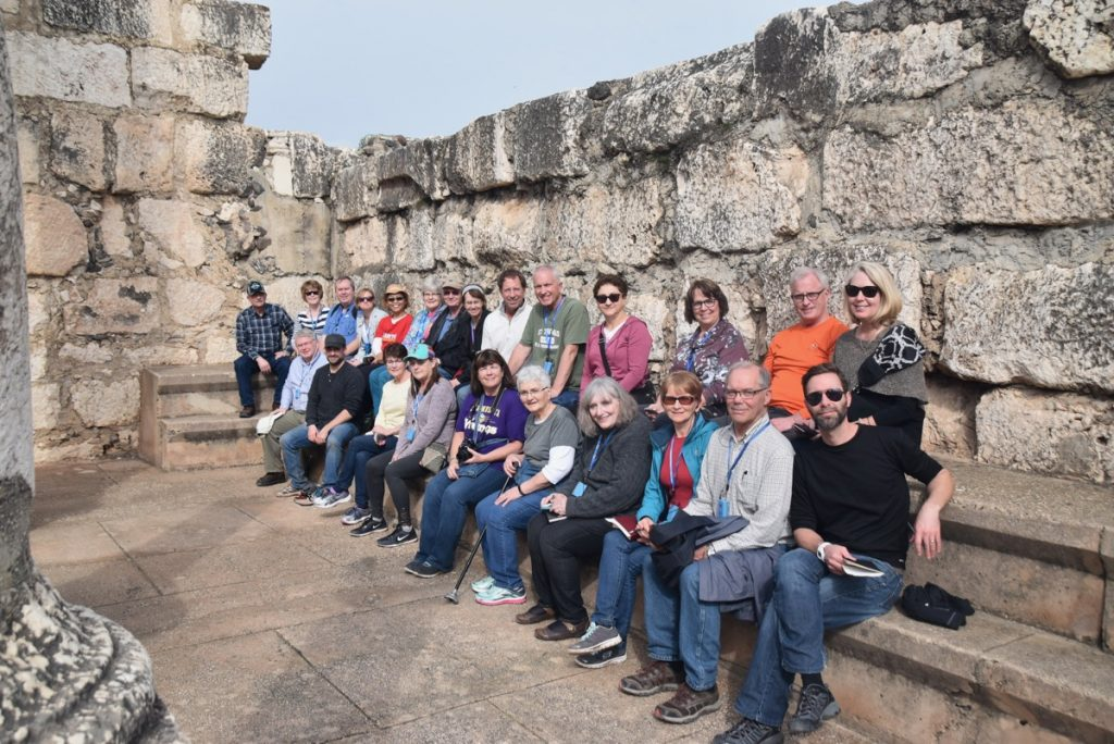Capernaum February 2018 Israel Tour with Dr. John DeLancey