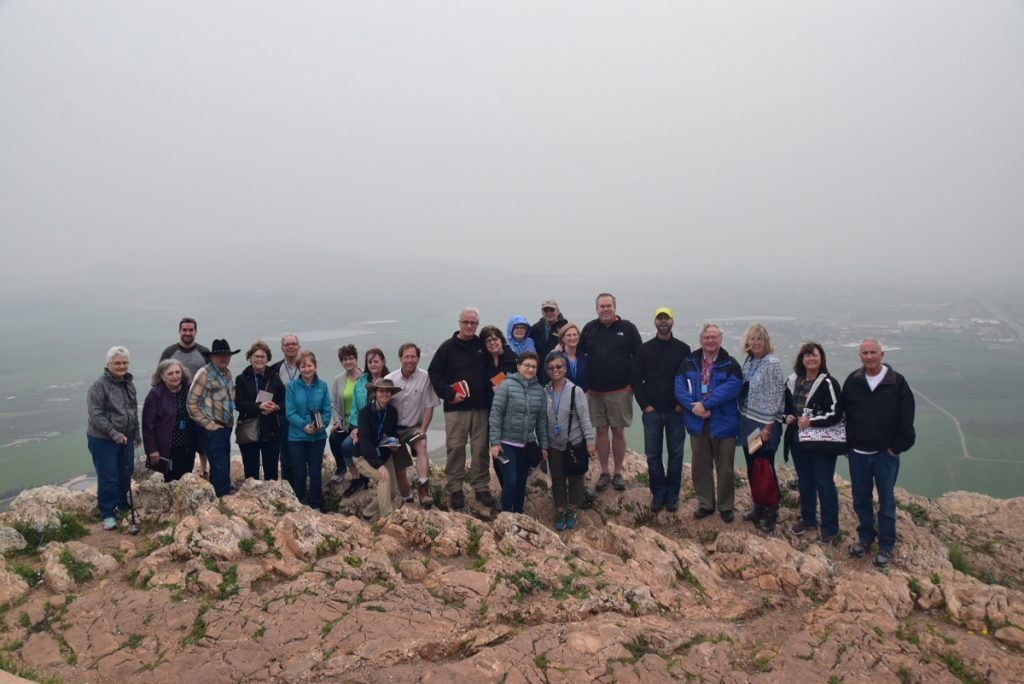 Precipice of Nazareth February 2018 Israel Tour with Dr. John DeLancey
